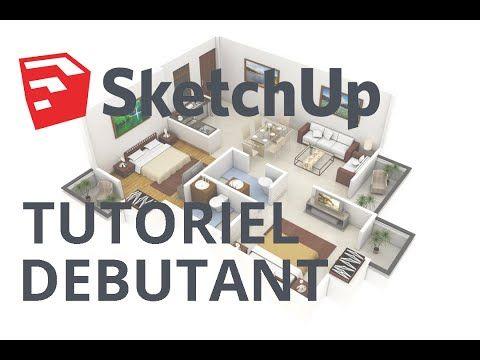 Tuto Dessiner sa maison avec SketchUp, chapitre #1  dessin d\u0027une - logiciel pour dessiner maison