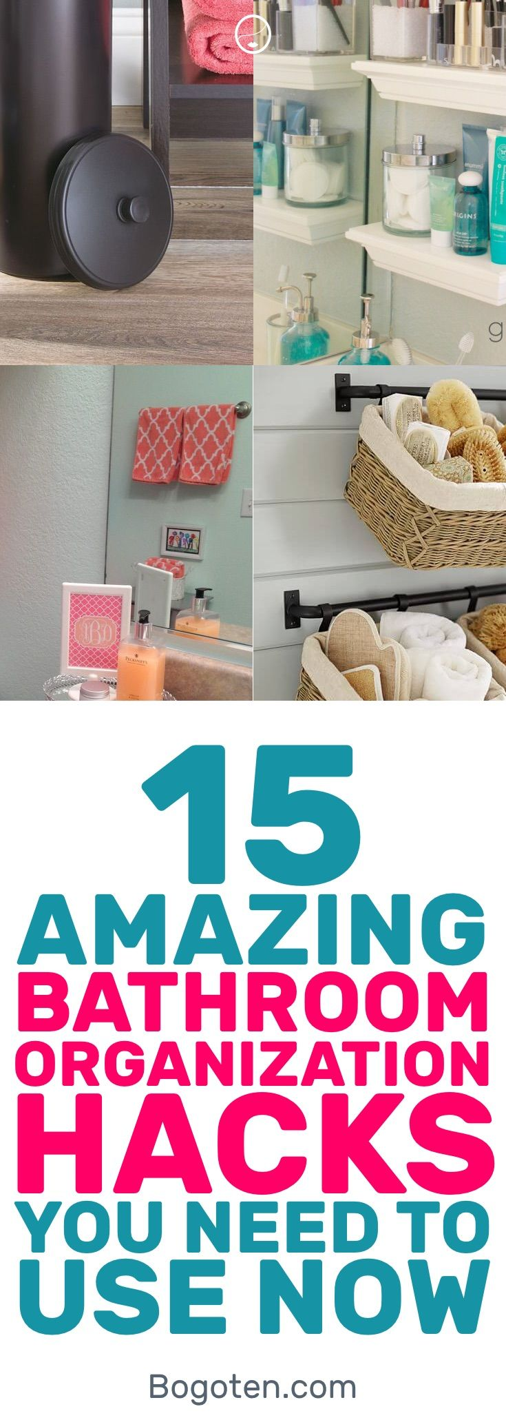 15 Superb Diy Bathroom Organization Hacks You Need Bathroom
