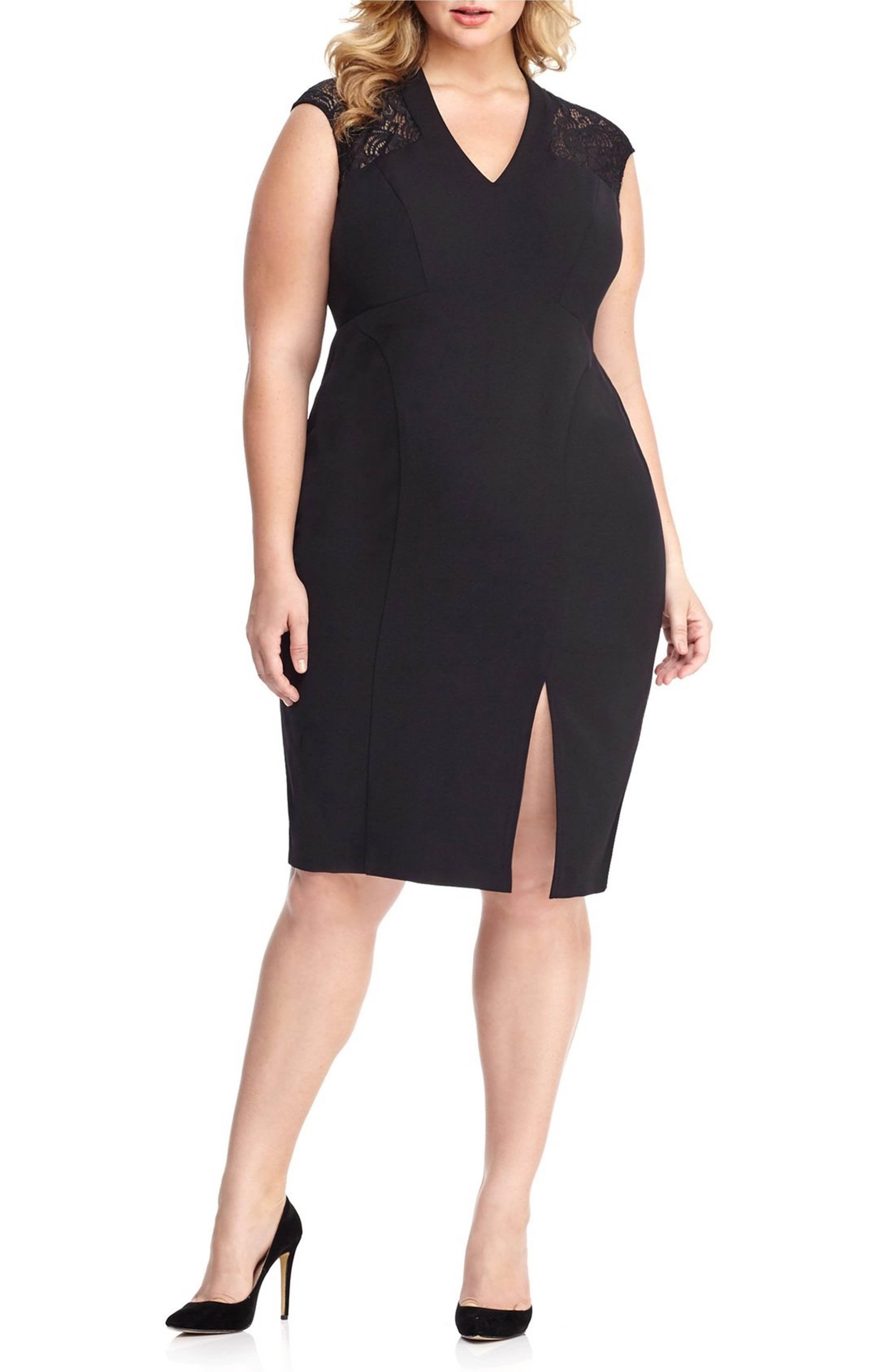Main Image London Times Sheath Dress Plus Size Plus Size Wedding Guest Dresses Plus Size Dresses Plus Size Women
