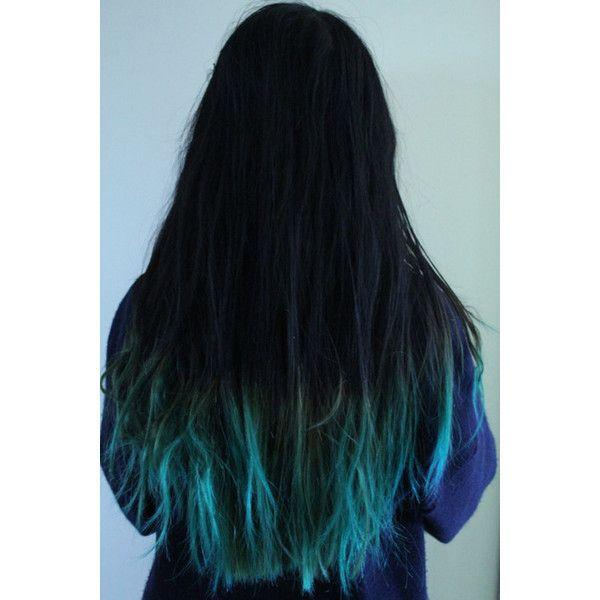 Bez Nazvaniya Dipped Hair Hair Styles Blue Ombre Hair