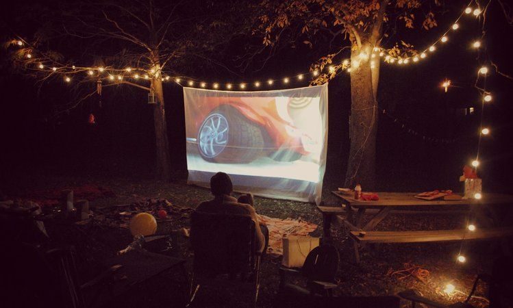 10 Parties To Throw This Summer Including A Cycling Party Artsy Tea Backyard Movie Night Favorite Things Great Gatsby Garden Banana