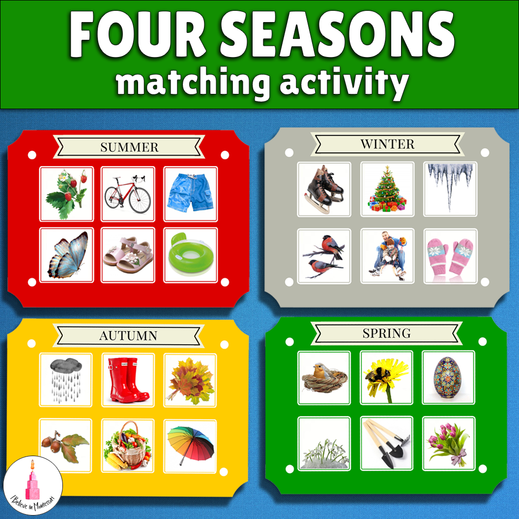 Predownload: This Is A Sorting And Classifying Activity To Teach Students About The Four Seasons This Set Contains Classi Sorting Activities Seasons Preschool Four Seasons [ 1056 x 1056 Pixel ]