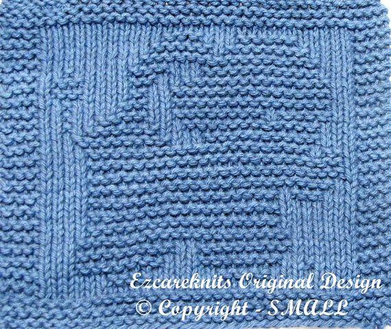 Baby Washcloths Knitting Patterns: Knitting Cloth Pattern - TOY ELEPHANT - PDF