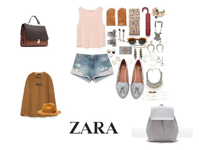 """""""Z-zara"""" by jusussol-1 ❤ liked on Polyvore featuring Zara"""