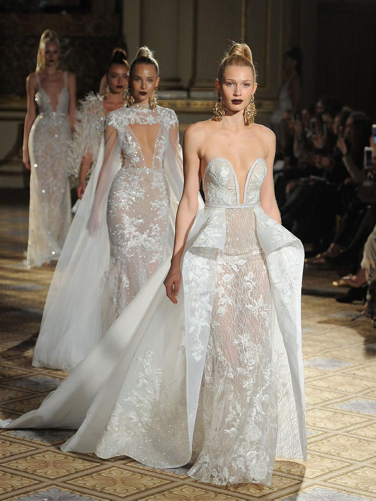 Berta Spring/Summer 2018: Modern and Sexy Wedding Dresses