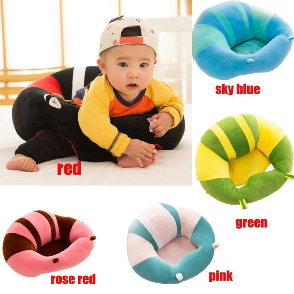 a3c600a19a7 Cute Baby Support Seat Sit Up Soft Chair Pillow Cushion Sofa Plush Toys  Cotton