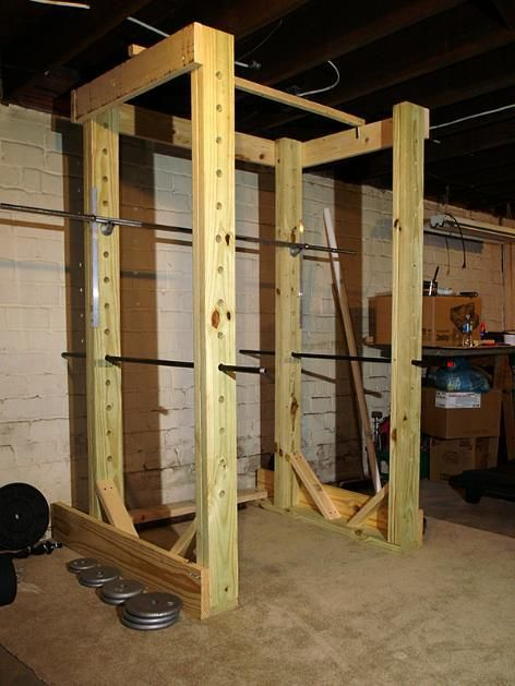 How To Build Wooden Squat Rack Plans Plans Woodworking Wooden Rack