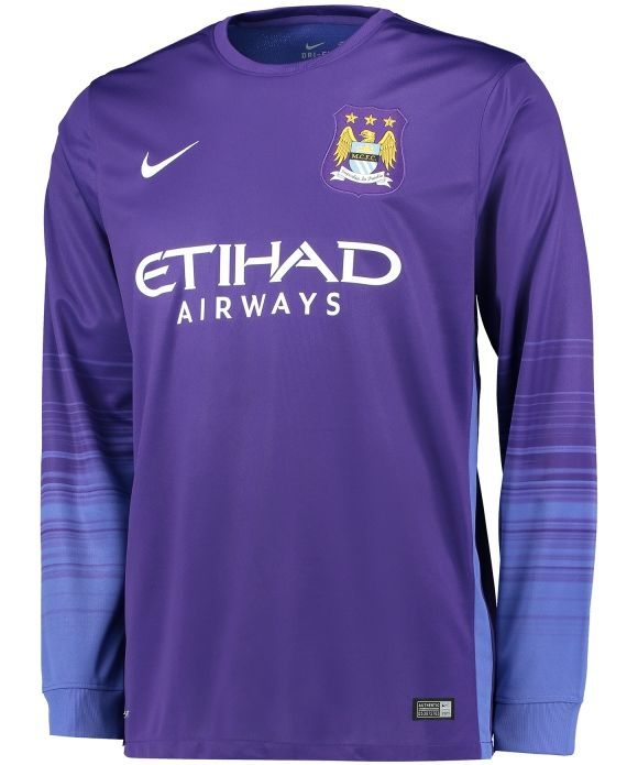 Manchester City 2015-16 Nike Goalkeeper Kit  4928919c1