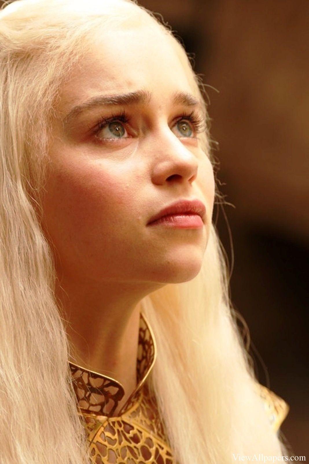 Emilia Clarke Game Of Thrones Wallpaper Beau Visage Game Of