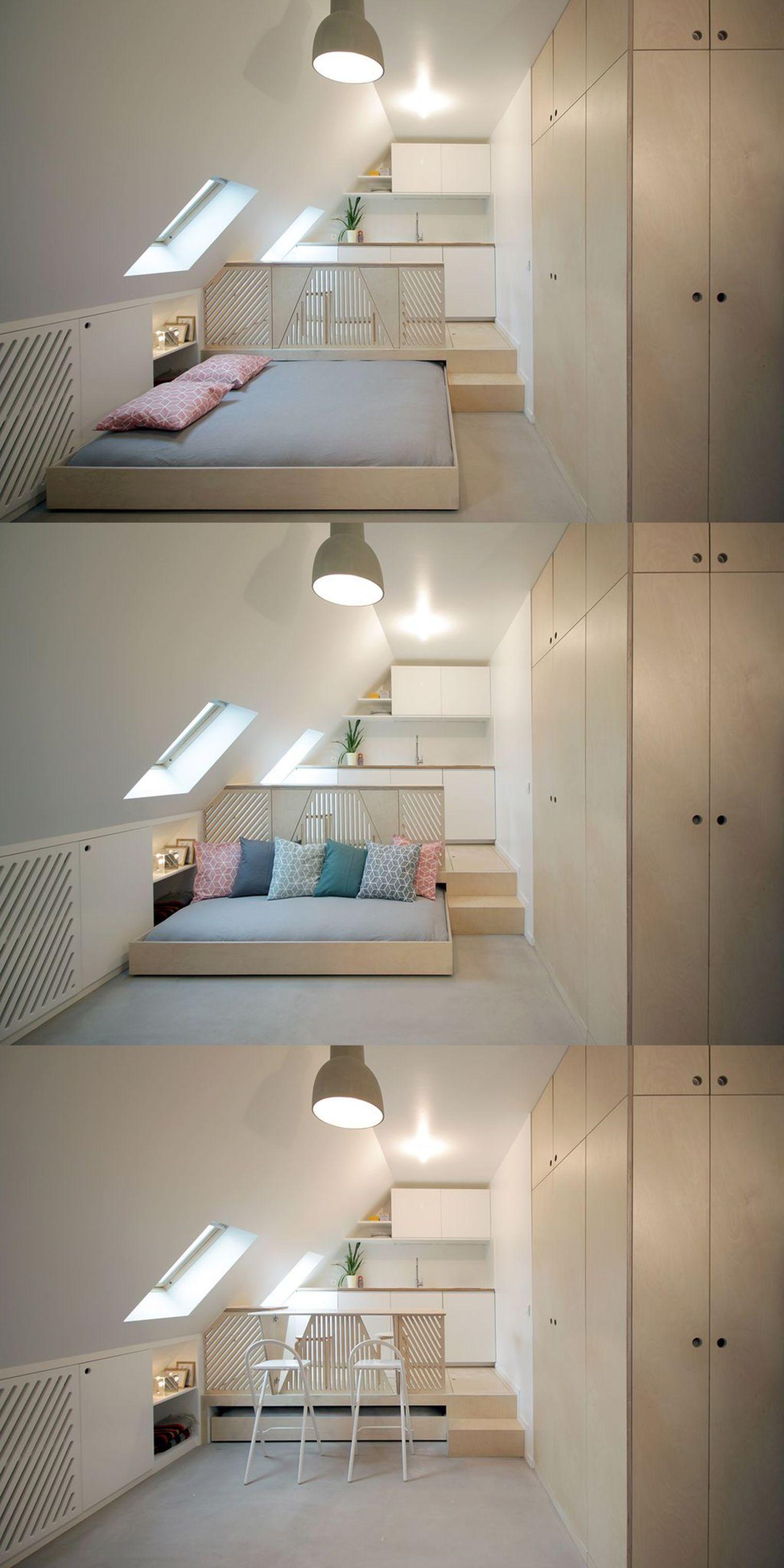 Solution Rangement Petit Appartement recevoir dans studio moins de 20 m2 : solutions meubles et