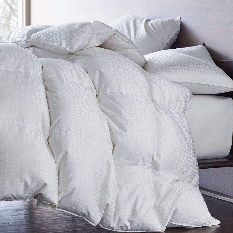 Legends Royal Baffled Hungarian White Goose Down Comforter Down Comforter White Down Comforter Luxury Bedding