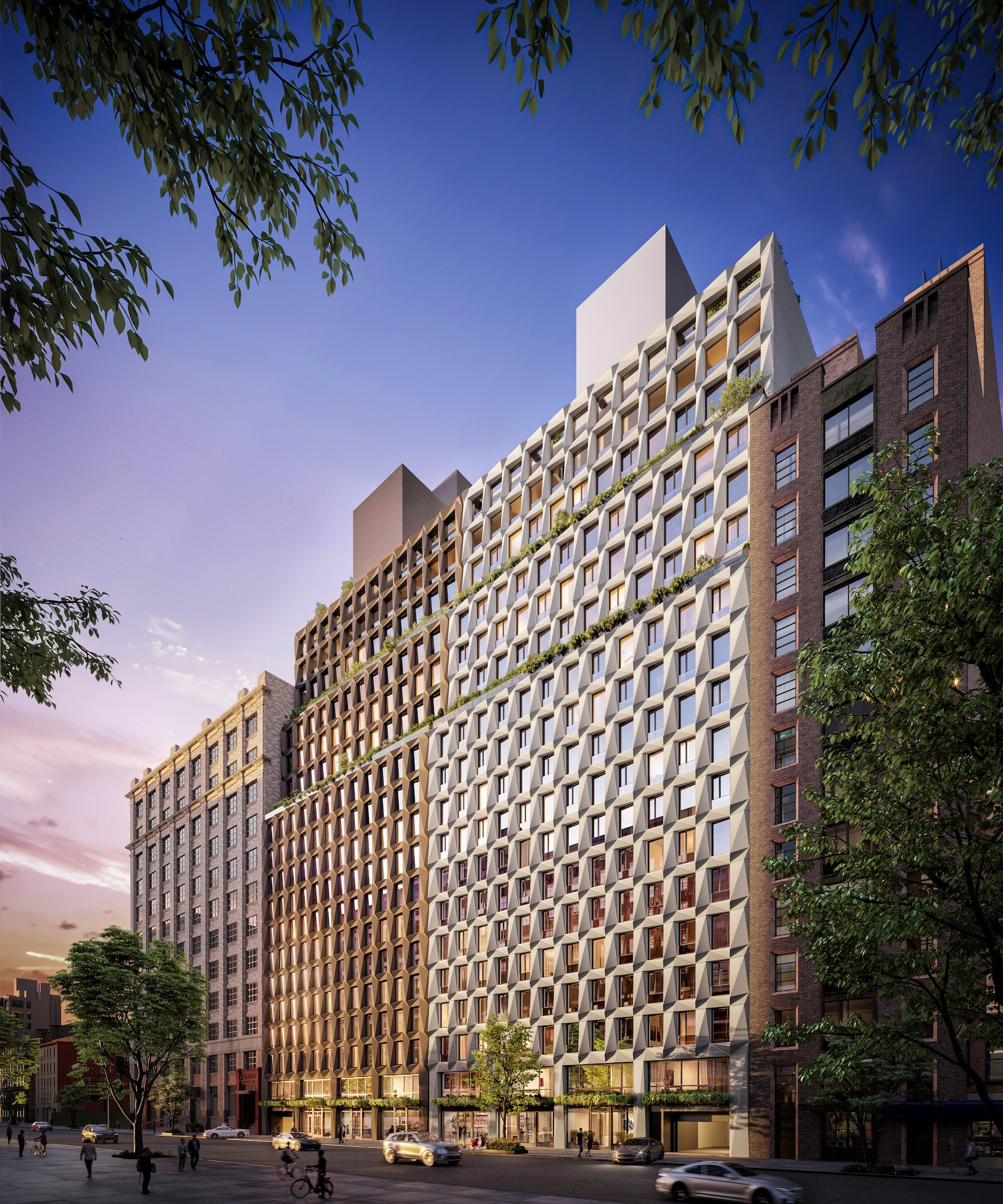 Lottery Launches For 35 Affordable Units At Wellness Themed Chelsea Condo Rental From 995 Month 6sqft In 2021 Mosaic Pool New York Architecture Affordable Housing