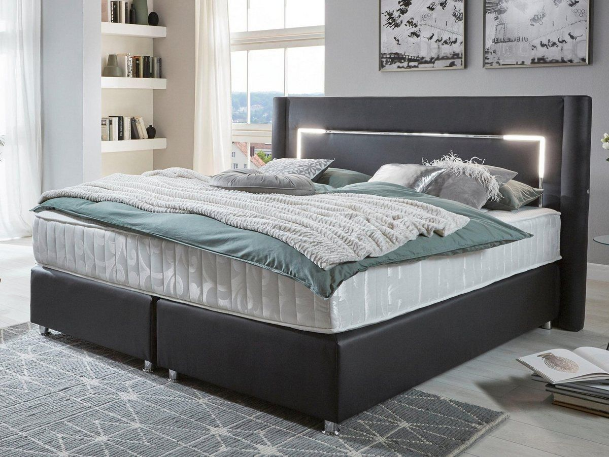 Atlantic Home Collection Boxspringbett Mit Led Beleuchtung Online