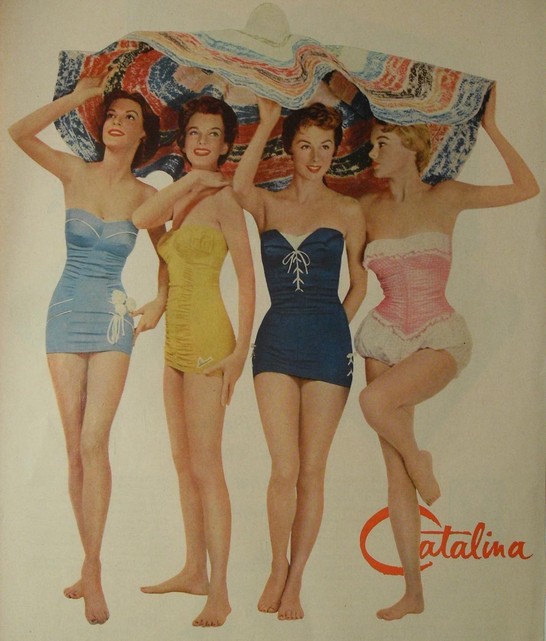 52114d583 Quien no se acuerda de los traje baños Catalina
