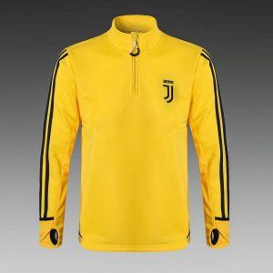Juventus 2017-18 Top Yellow Training Jersey  L668  Cheap Footballs 6777f26df