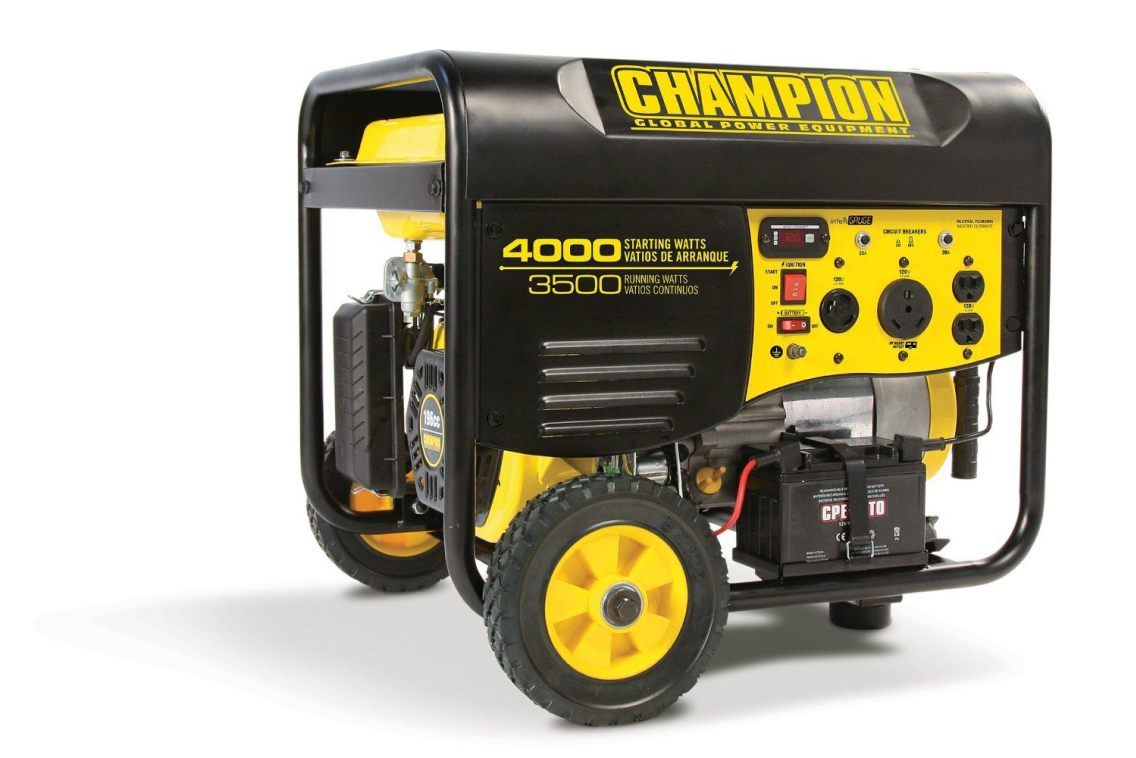 Best Portable Generator Reviews 2017 Champion Equipment 46539
