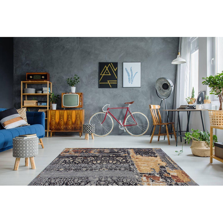 Kurzflorteppich Blaze Vintage In 2020 Living Room Carpet Turquoise Rug Grey And White Rug