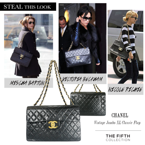 e63e2da4b11a Vintage Jumbo XL Classic Flap from Chanel a must have in any bag collection