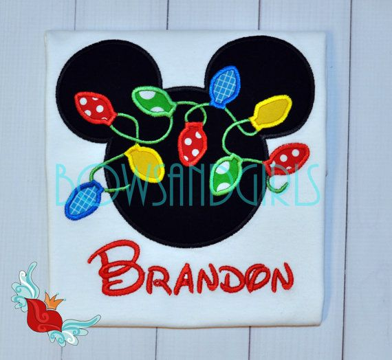Personalized - Disney -Christmas -Shirt -Cruise-Parks -Mickey -Minnie-  inspired- Custom- Applique- Family - Embroidery - Monogram