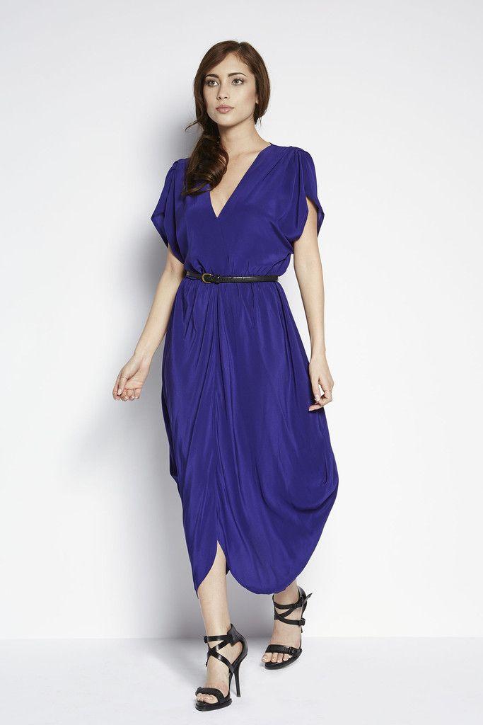 Great Length Dress for Petite Girls- Model is 5\'4 | www.adelamei.com ...