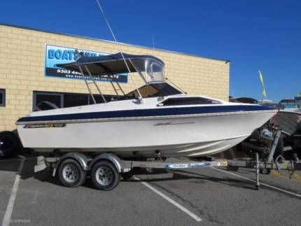 Haines Signature 530f Popular First Boat Great Size Motorboats Powerboats Gumtree Australia Wanneroo Area Wangara 114327 Power Boats Motor Boats Boat