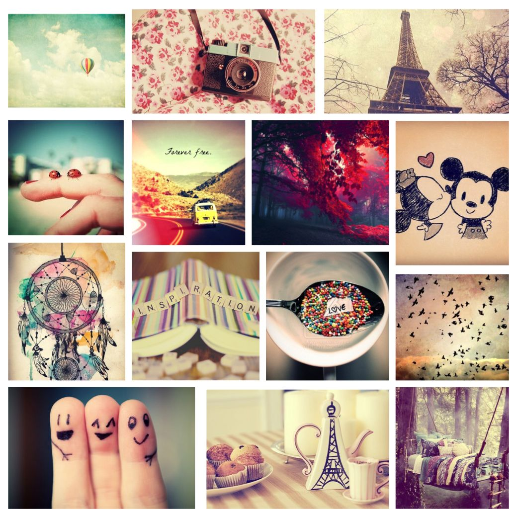 tumblr notebook cover template collage - Google Search ...