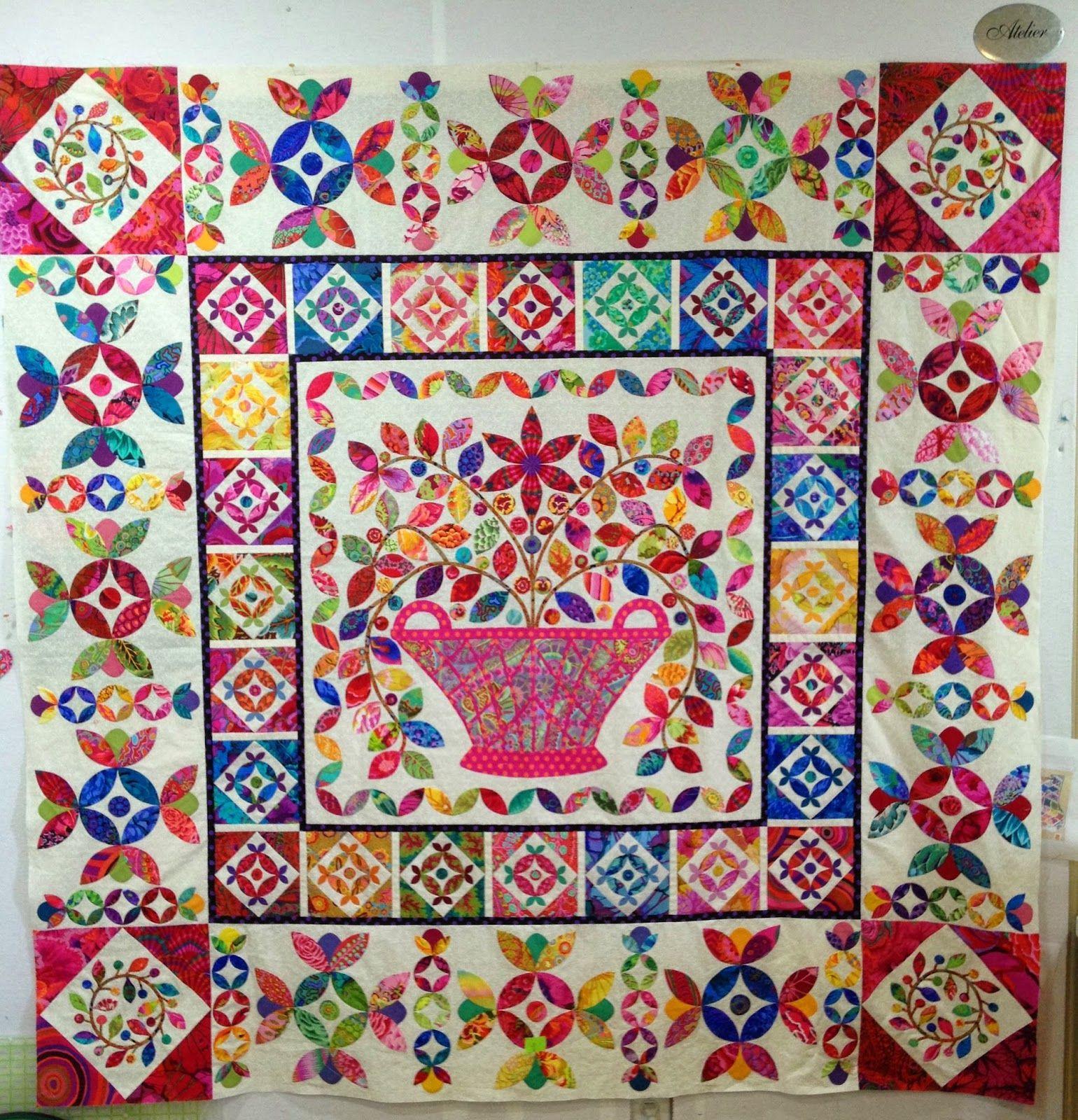 Kim McLean i Danmark | Quilts | Pinterest | Medallion quilt ... : kim mclean quilts - Adamdwight.com