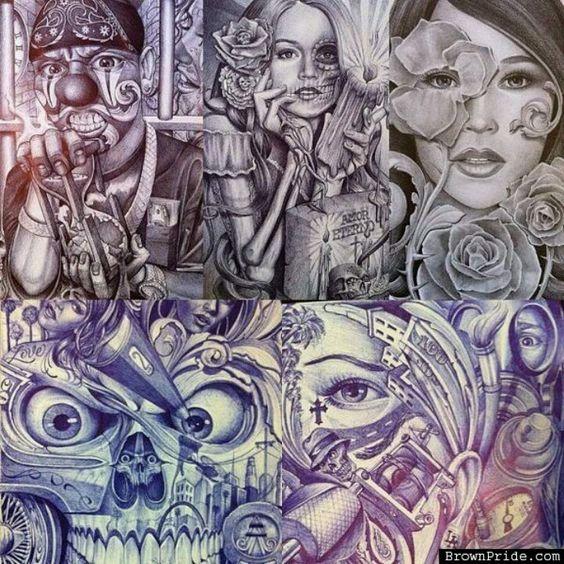 Image Result For Norteno Prison Artwork