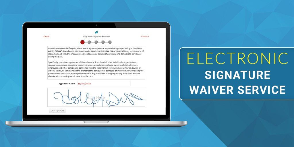 Waiver Electronic is the easiest and most secure way to