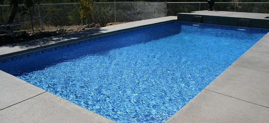 Gorgeous Modern Style Inground Pool Liners Gray Concrete