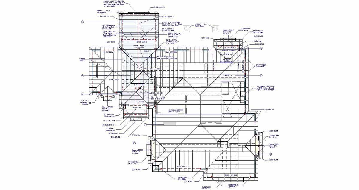 Roof Plans Roof Framing Plan Roof Framing Plan Related Keywords Suggestions E2a5e20358a370a5 Jpg 1 200 635 Pixels Roof Framing Roofing Roof Repair