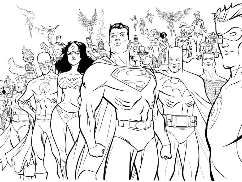 25 Pretty Picture Of Dc Comics Coloring Pages Davemelillo Com Superhero Coloring Pages Superhero Coloring Avengers Coloring Pages