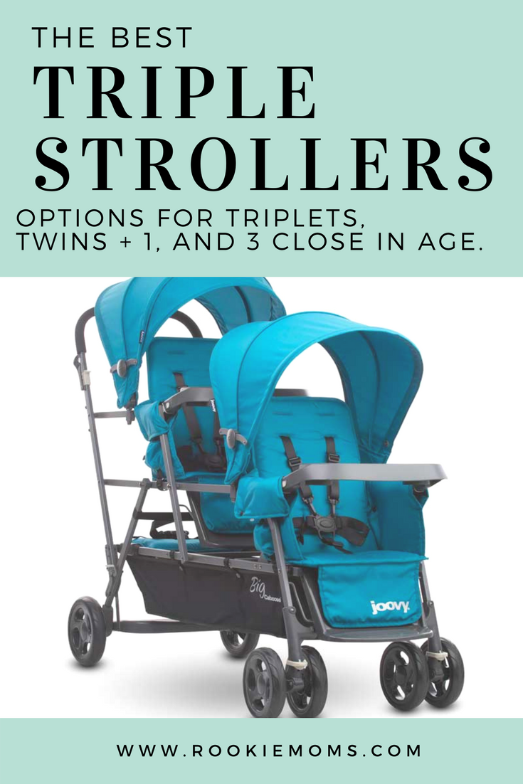 The Very Best Triple Strollers for more than just