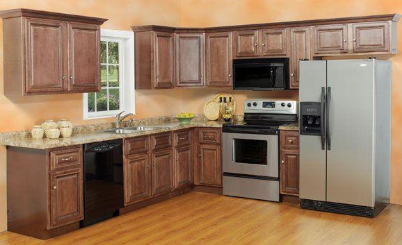 Remodel Plan For Kitchen 7 X 11 Standard Kitchen Idea Nice Wood With Black Applicances Kitchen Designs Layout Kitchen Layout Small Kitchen Design Layout
