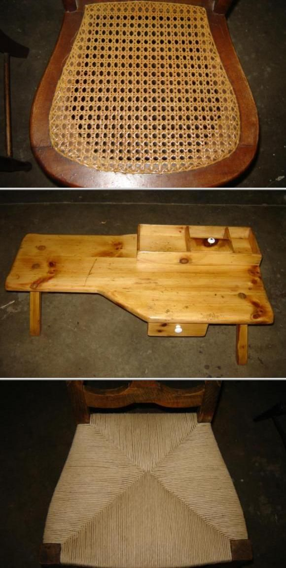 Have old furniture with sentimental value that you want restored