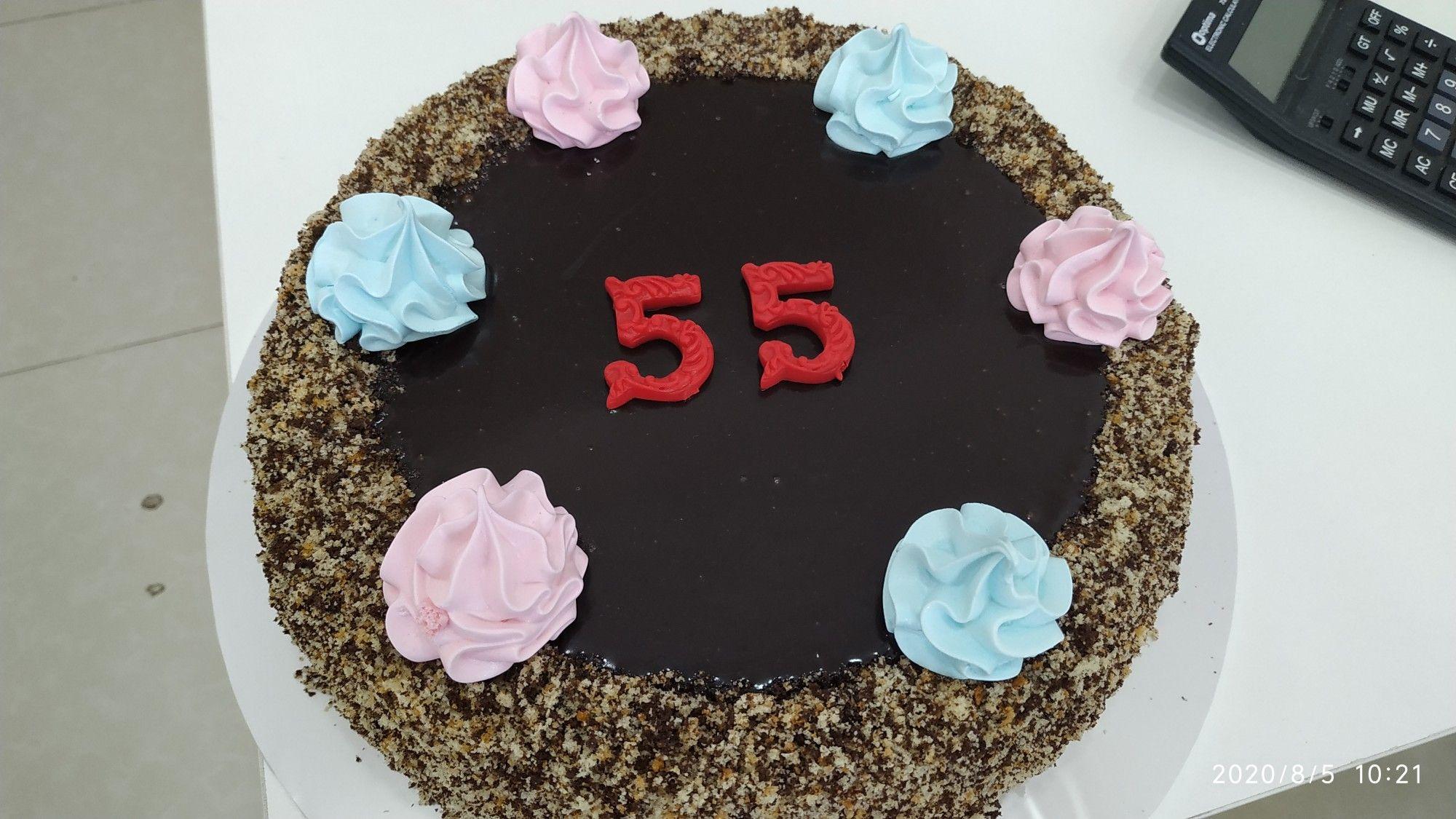 Dogum Gunu 55 Yas Desserts Birthday Cake