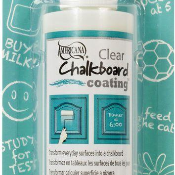Americana Chalkboard Paint Clear Coating Chalkboard Chalkboard Paint Craft Tutorials