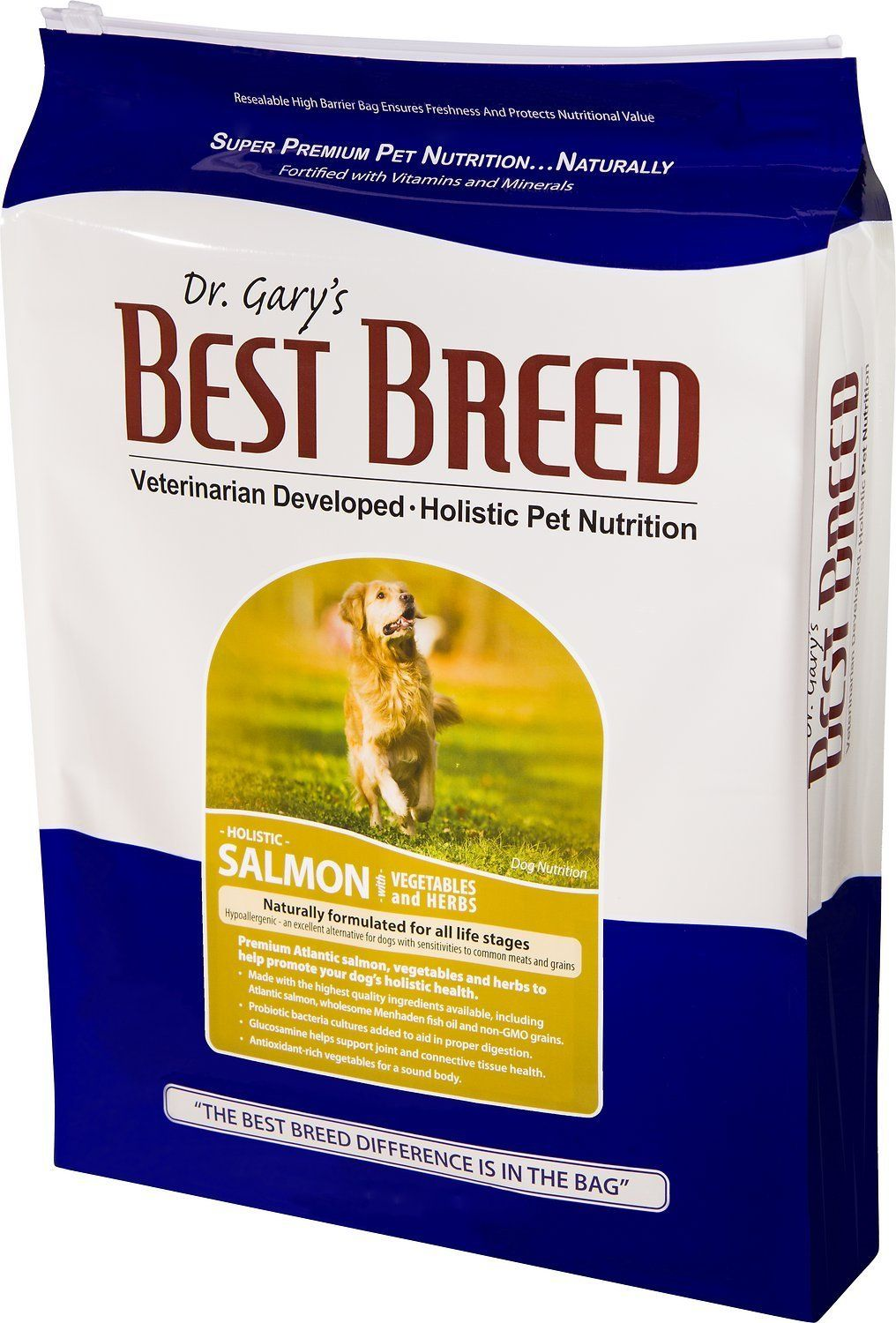 Best breed 531023 dog salmon with vegetables and herbs44