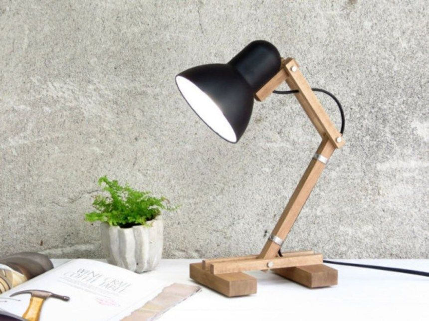 Houten Bureau Lamp.67 Minimalist Bedside Table Lamps Ideas To Makes Your Room Cozier