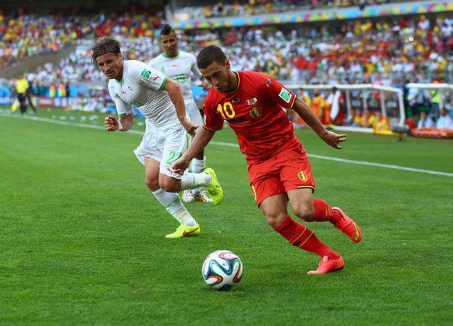 Belgium Vs Algeria Final Score 2 1 World Cup Algeria World
