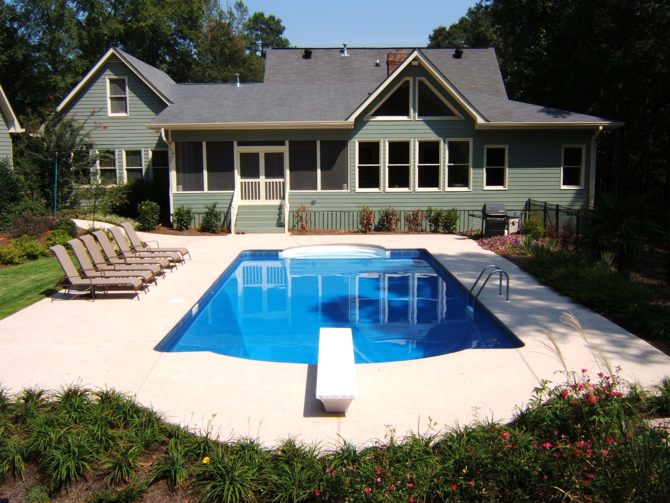 Vinyl liner pool builder | Pool | Pinterest | Pool builders, Pool ...