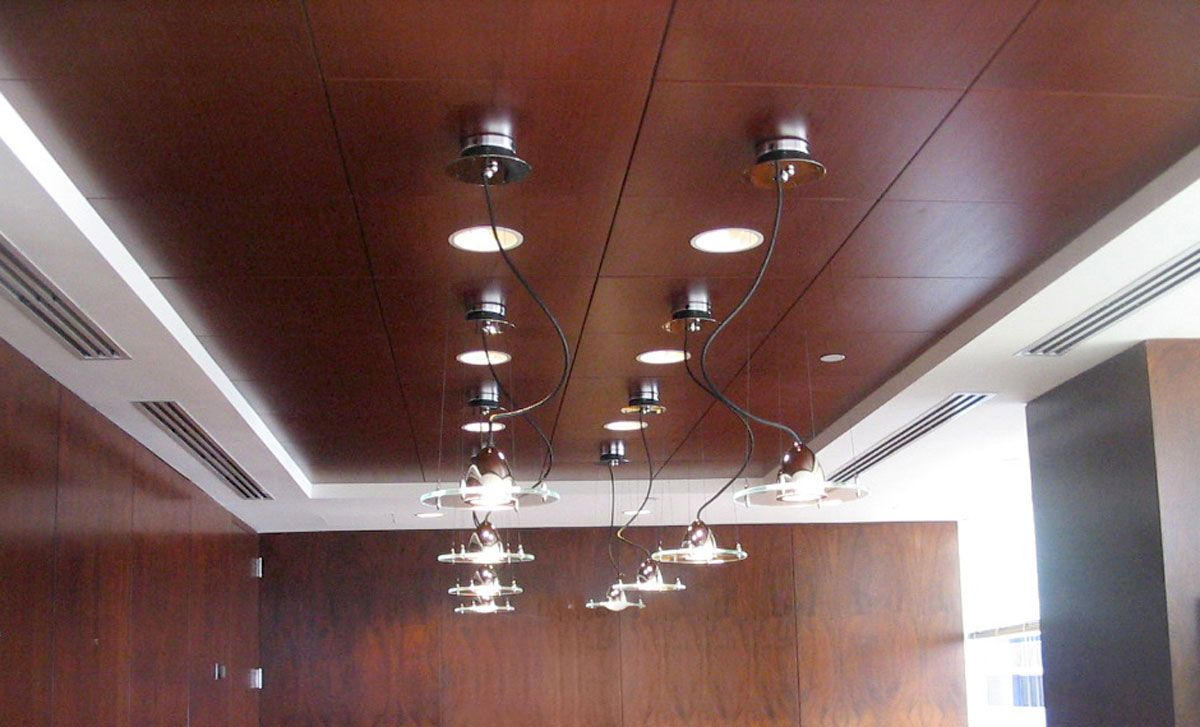 Image result for suspended ceiling wood tiles home theaters image result for suspended ceiling wood tiles dailygadgetfo Choice Image