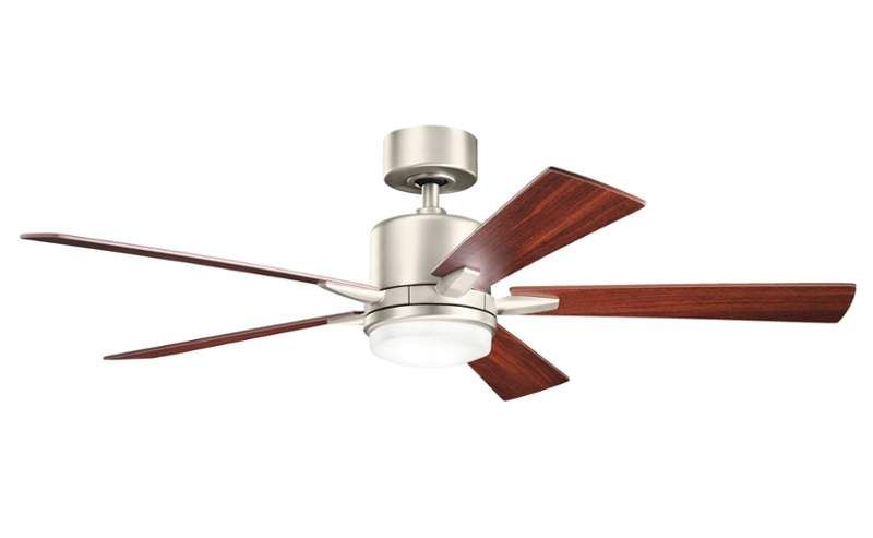 View The Kichler 300176 52 Indoor Ceiling Fan With Blades Light