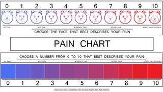 Pain Scale - Reflex Sympathetic Dystrophy Support Group