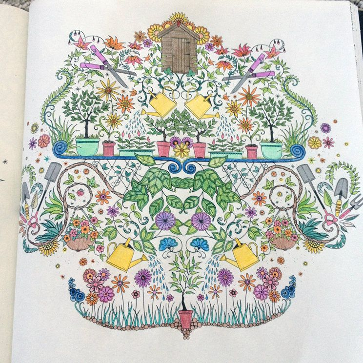 Coloring Book Secret Garden : The secret garden and the joy of colouring books blog