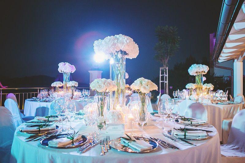 Elagant wedding decoration  - Weddings in Split nora-photography