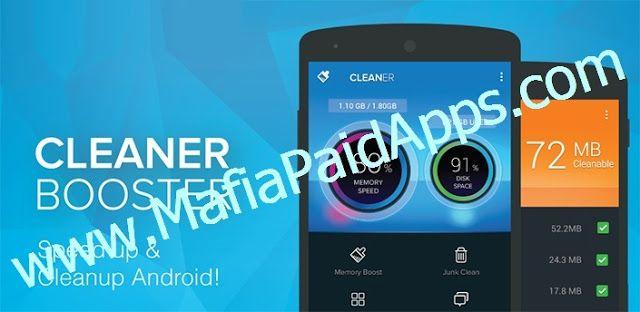 Cleaner Boost & Optimize Pro v2.6.1 APK Cleaning