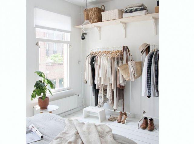 15 id es de dressings pour un petit appartement dr who - Petit seche linge pour appartement ...