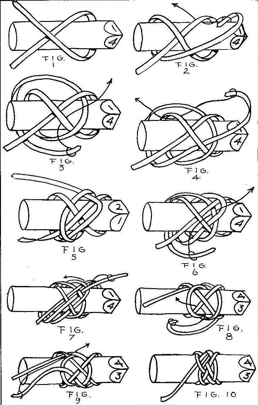 Turk S Head Knot 우정팔찌 패턴 파라코드 팔찌 태슬