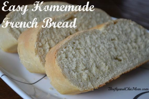 Simple Homemade French Bread Recipe: Simplify Your Kitchen ...
